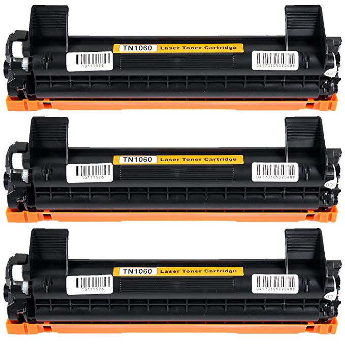 CISinks HTB-TN1060-3PK ブラック Toner Cartridge リプレイスメント: Brother TN-1060 |1,000 yield| compatible with the Brother HL-1110,1112,1212, MFC-1810,1815,1910, DCP-1510,1510,1512,1610,1612 (海外取寄せ品)