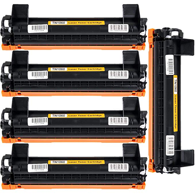 CISinks HTB-TN1060-5PK ブラック Toner Cartridge リプレイスメント: Brother TN-1060 |1,000 yield| compatible with the Brother HL-1110,1112,1212, MFC-1810,1815,1910, DCP-1510,1510,1512,1610,1612 (海外取寄せ品)