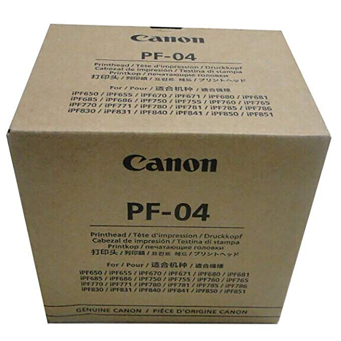 キャノン Canon PF-04 Printhead for IPF650 IPF655 IPF750 IPF760 IPF765 IPF755 Printer Head (海外取寄せ品)