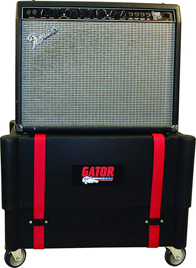 Gator ケース モールド Plastic Guitar Amp Transporter, and Stand, with Caster Wheels; フィット 2x12 コンボ Amps (G-ROTO-212) (海外取寄せ品)