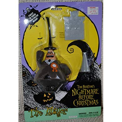NECA ナイトメア ビフォア クリスマス Nightmare Before Christmas Figural Fountain (海外取寄せ品)