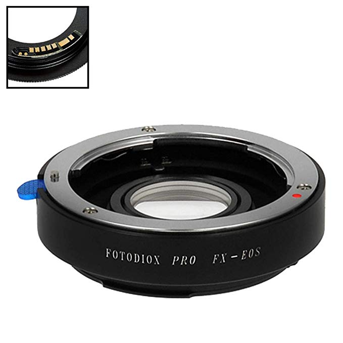 Fotodiox プロ レンズ Mount Adapter Compatible with Fuji Fujica X-Mount 35mm (FX35) SLR レンズ to キャノン Canon EOS (EF, EF-S) Mount D/SLR Camera Body - with Gen10 フォーカス Confirmation チップ (海外取寄せ品)