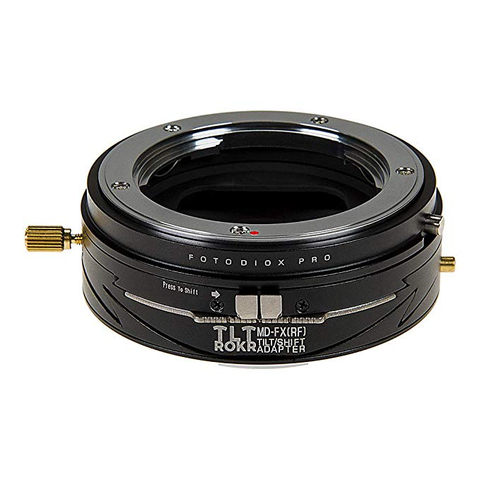 Fotodiox プロ TLT ROKR - Tilt/Shift レンズ Mount Adapter Compatible with Minolta Rokkor (SR/MD/MC) SLR Lenses to Fujifilm Fuji X-Series Mirrorless Camera Body (海外取寄せ品)