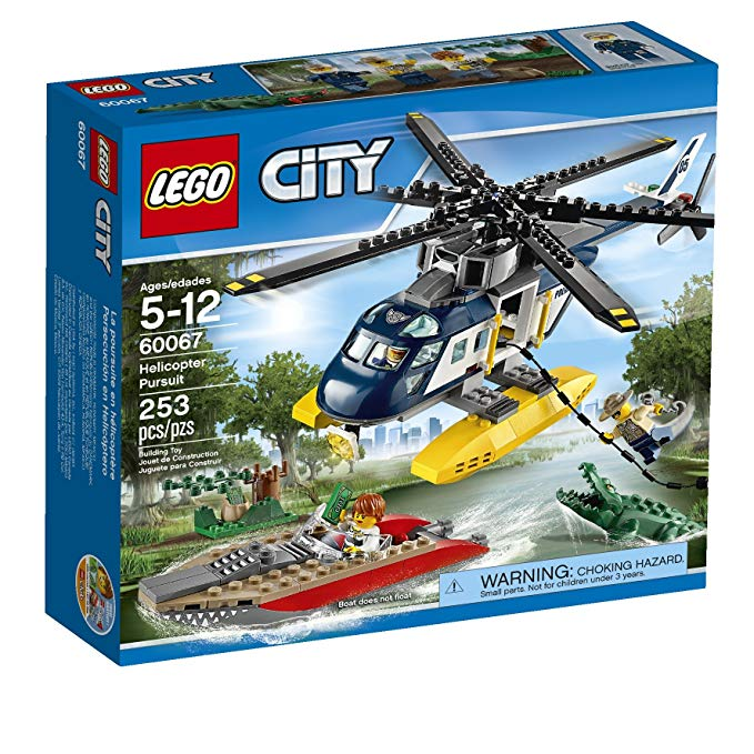 レゴ シティ Lego City ポリス Police Helicopter Pursuit (Discontinued by manufacturer) (海外取寄せ品)
