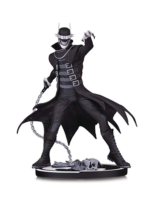DC Collectibles バットマン Batman ブラック & ホワイト: The バットマン Batman Who Laughs レジン Statue (海外取寄せ品)