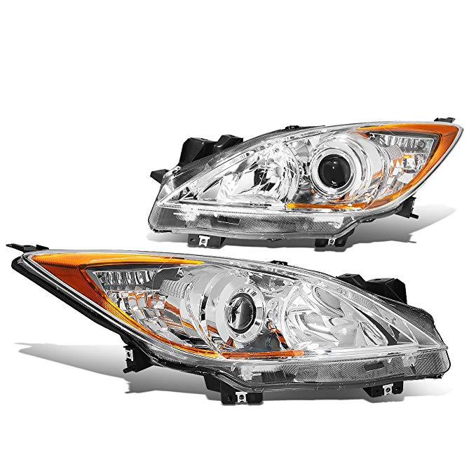 DNA MOTORING HL-OH-MM310-CH-AM Headlight Assembly, ドライバー And Passenger Side (海外取寄せ品)[汎用品]