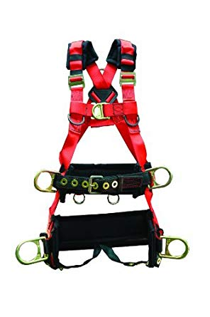 Elk リバー 66621 EagleTower Polyester/ナイロン LX 6 D-リング Harness with クイック-Connect バックル, スモール (海外取寄せ品)