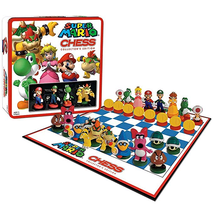 USAOPOLY Super Mario Chess コレクター Edition (海外取寄せ品)