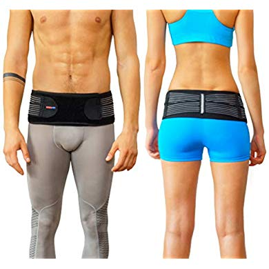 AllyFlex レディース バック ブレース for フィーメイル Lower バック Pain - Petite Orthopedic バック ブレース for レディース Under Clothes Lower Lumbar Support to Improve Posture (XS/S) (海外取寄せ品)