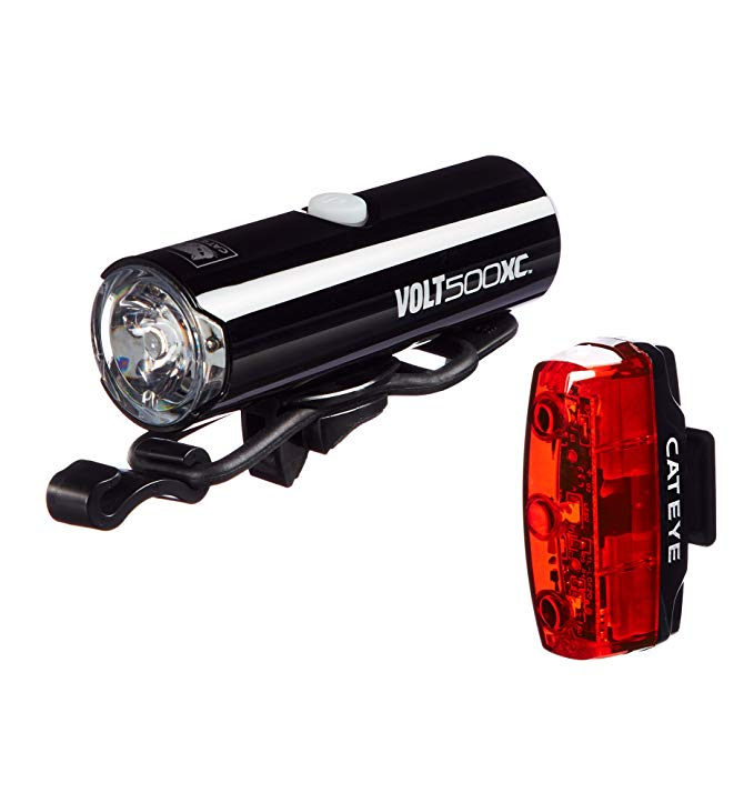 Cat アイ - Volt 100 XC Rechargeable Headlight and Rapid Micro Rear バイク Light (海外取寄せ品)