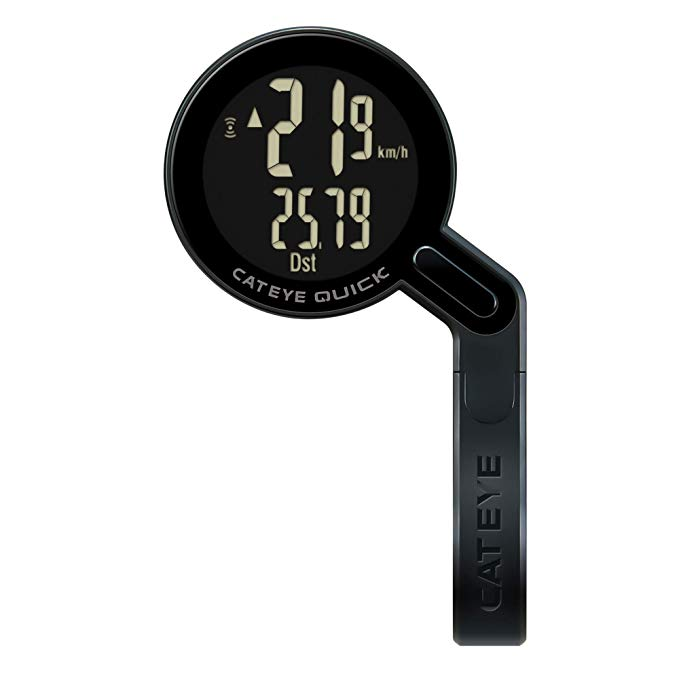 Cat アイ - クイック バイク コンピューター - Wireless and 防水 - Odometer and Speedometer - ロード Cycling and Commuting (海外取寄せ品)