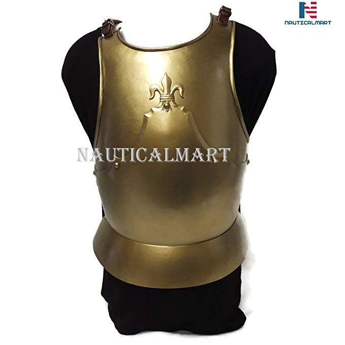 Medieval LARP ファンタジー コスチューム スチール Armour Cuirass Breastplate (海外取寄せ品):シアター
