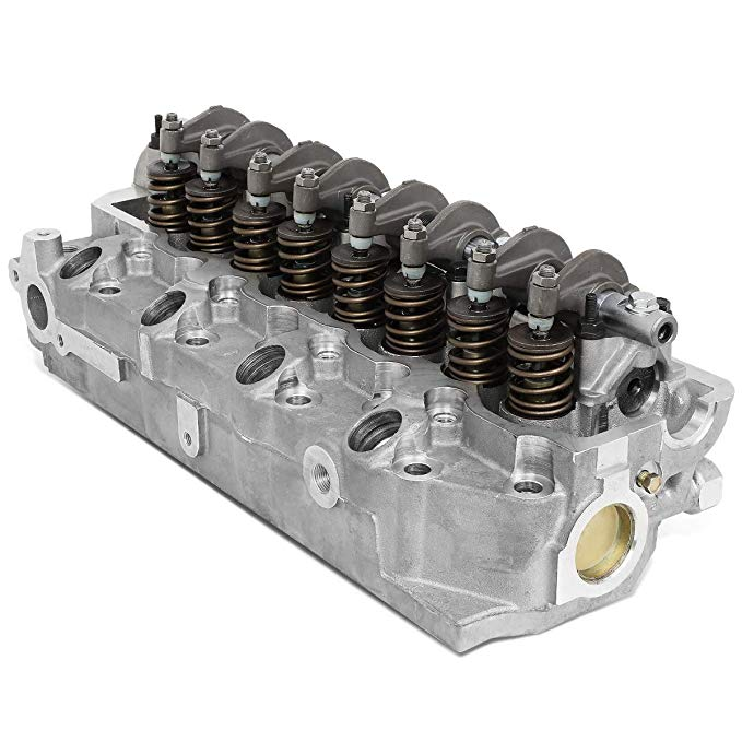 DNA Motoring CYLH-MIT-4D56-ASSE 4D56/4D56T エンジン OE スタイル Aluminum Complete Cylinder Head (海外取寄せ品)[汎用品]