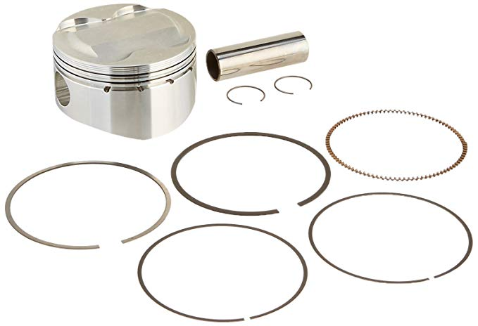 Wiseco 4576M08100 81.00mm 10.5:1 Compression 358cc Motorcycle Piston キット (海外取寄せ品)