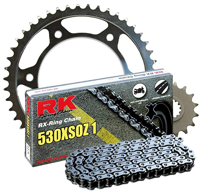 RK レーシング チェーン 2067-900W スチール Rear Sprocket and 530XSOZ1 チェーン 20,000 Mile キット (海外取寄せ品)