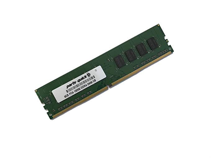 8GB メモリ memory for MSI Motherboard C236A Workstation DDR4 2400MHz ECC UDIMM (PARTS-クイック Brand) (海外取寄せ品)