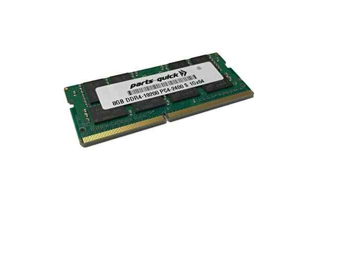 8GB メモリ memory for エイサー Acer Aspire E5-575-5253, E5-575-5493 DDR4 2400MHz SODIMM RAM (PARTS-クイック Brand) (海外取寄せ品)