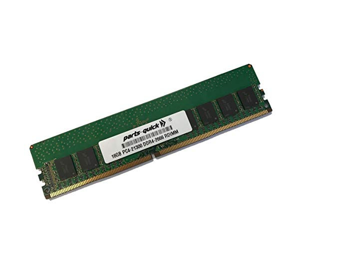16GB メモリ memory for Supermicro SuperServer 1029TP-DTR (Super X11DPT-PS) DDR4 2666 MHz 1.2V ECC RDIMM (PARTS-クイック Brand) (海外取寄せ品)