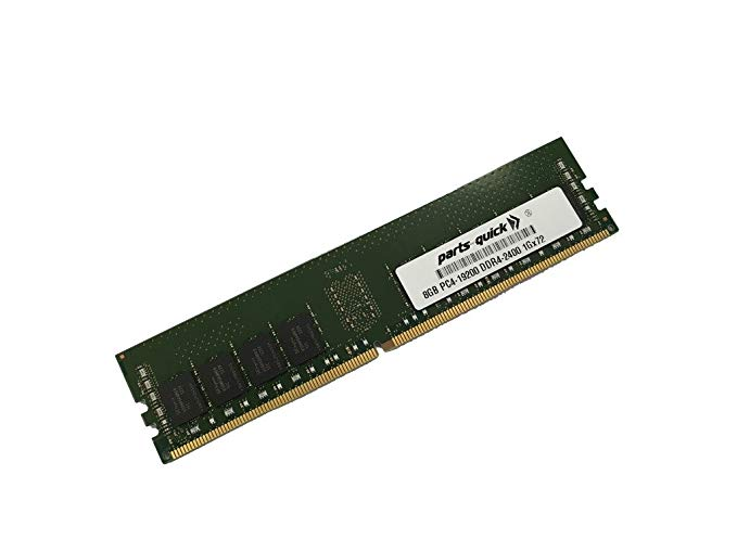 【エントリーでポイント10倍!4月30日まで】8GB メモリ memory for Supermicro SuperServer F618H6-FTL+ (Super X10DRFF-CG) DDR4 2400 MHz ECC RDIMM (PARTS-クイック Brand) (海外取寄せ品)