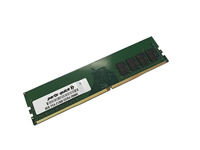 8GB メモリ memory for Supermicro SuperServer 5019C-FL (Super X11SCL-IF) 288-ピン DDR4 2666 (PC4 21300) ECC UDIMM RAM (PARTS-クイック Brand) (海外取寄せ品)