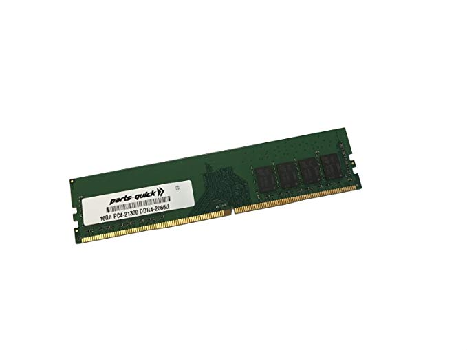 【エントリーでポイント10倍!4月30日まで】16GB メモリ memory for Supermicro A+ Server 5019D-FTN4 (M11SDV-8C-LN4F) DDR4 PC4-21300 2666MHz Non-ECC Unbuffered DIMM RAM (PARTS-クイック Brand) (海外取寄せ品)