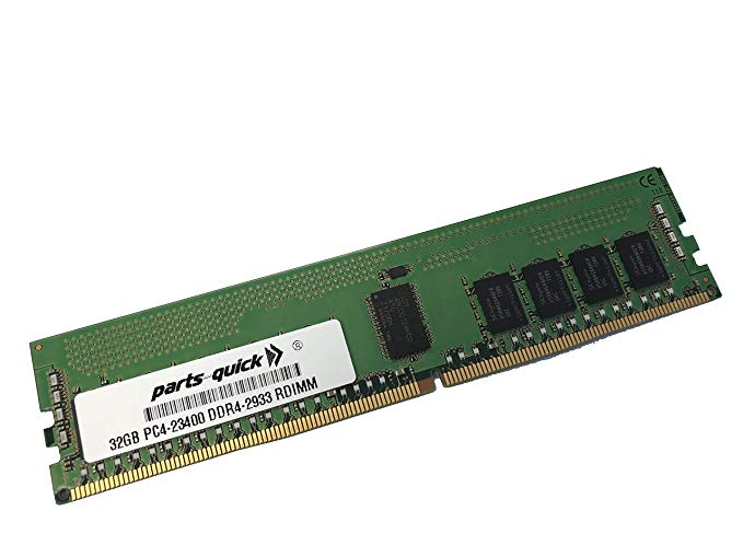 32GB Compatible メモリ memory for レノボ ThinkSystem SR530 (Xeon SP ジェン 2) 2933 MHz 2RX4 1.2V RDIMM (PARTS-クイック Brand) (海外取寄せ品)