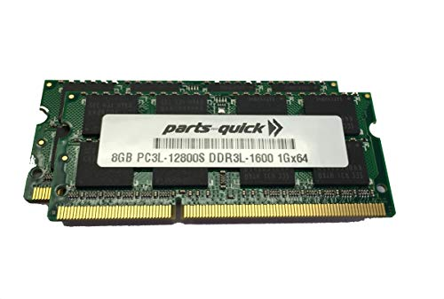 16GB (2 X 8GB) キット メモリ memory for Synology RackStation RS818+ RS818RP+ DDR3L-1600 SODIMM RAM モジュール (PARTS-クイック Brand) (海外取寄せ品)