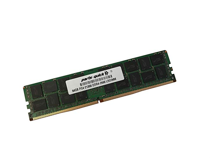 64GB Compatible メモリ memory for Supermicro X11SPA-TF MotherboardDDR4 LRDIMM 2666MHz LV RAM (PARTS-クイック Brand) (海外取寄せ品)