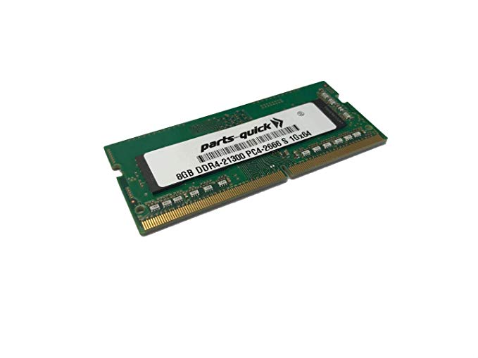 8GB メモリ memory Upgrade Compatible with デル Inspiron 15 7000 Series (7590) 2-in-1 DDR4 2666MHz SODIMM RAM (PARTS-クイック Brand) (海外取寄せ品)