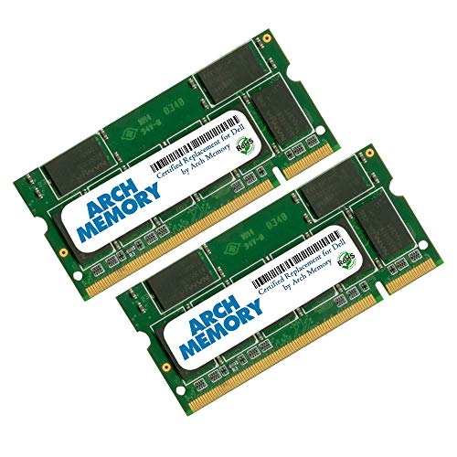 Arch メモリ memory リプレイスメント for デル SNPTX760CK2/4G A7548317 4 GB (2 x 2 GB) 200-ピン DDR2 So-dimm RAM for Latitude D630n (海外取寄せ品)