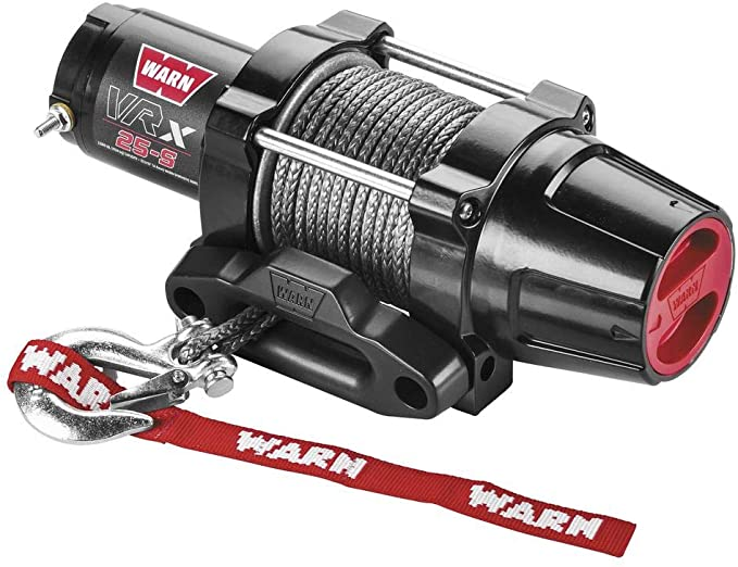 New Warn VRX 2500 lb With シンセティック Rope & Model Specific Mounting Hardware - 2005-2008 ヤマハ Grizzly 450 ATV (海外取寄せ品)