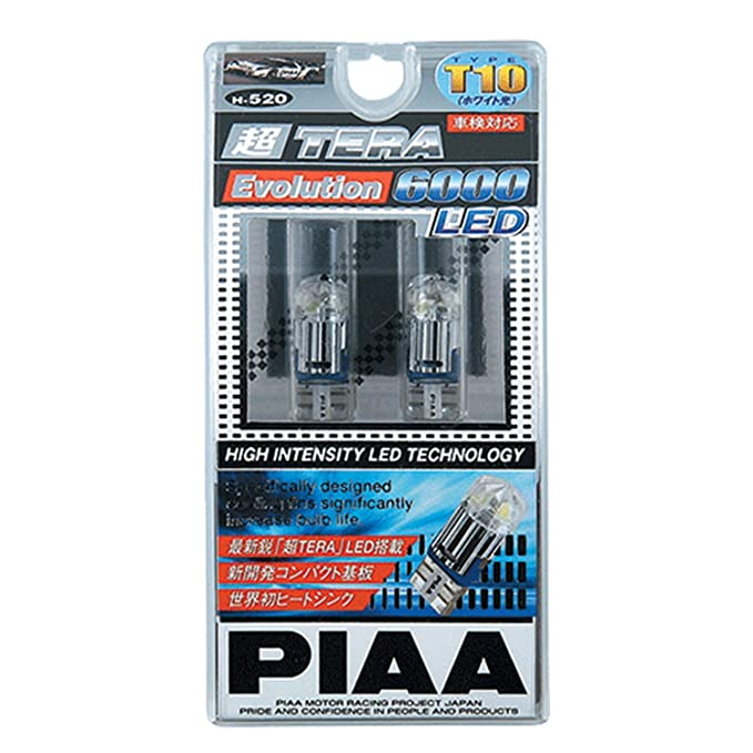 Piaa 19520 Hyper Tera Evolution 168 Wedge Bulb (海外取寄せ品)