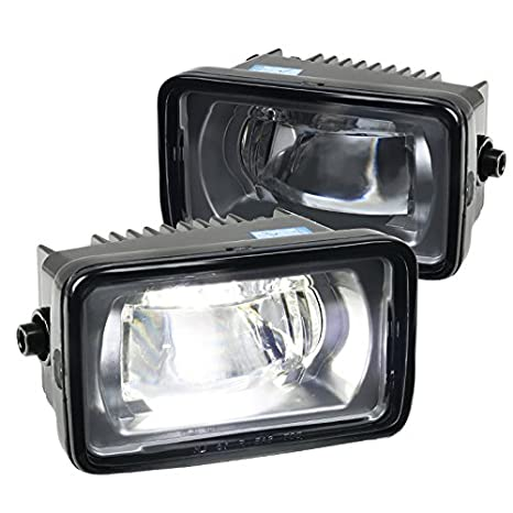 Spec-D Tuning For Ford F150 F250 F350 SuperDuty LED Driving Bumper スモーク レンズ Projector Fog ライト (海外取寄せ品)