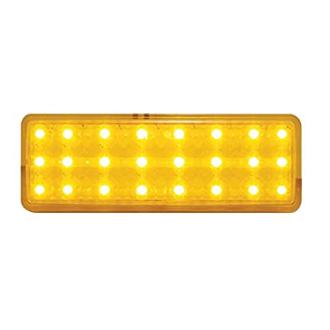 United Pacific CPL4753A 24 Led Parking Light レンズ, アンバー For 1947-53 Chevy Truck (海外取寄せ品)
