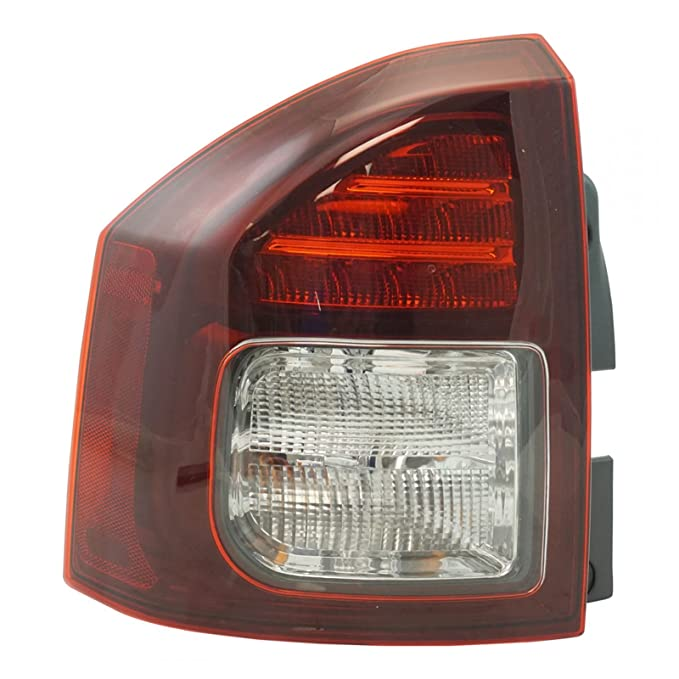LED Tail Light ランプ Assembly ドライバー Side LH LR for Jeep コンパス SUV Truck (海外取寄せ品)