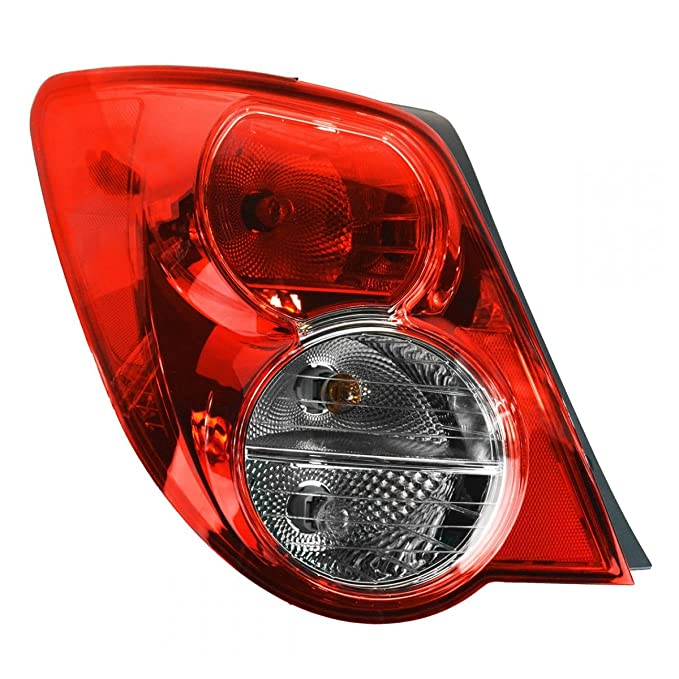 Taillight Taillamp ドライバー Side Left LH LR for 12-13 Chevy Sonic Notchback (海外取寄せ品)