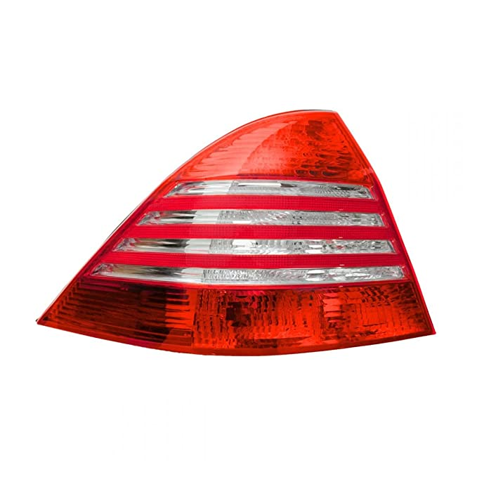 Rear Brake Light Taillight ランプ Left ドライバー Side LH for 03-06 Mercedes S クラス (海外取寄せ品)