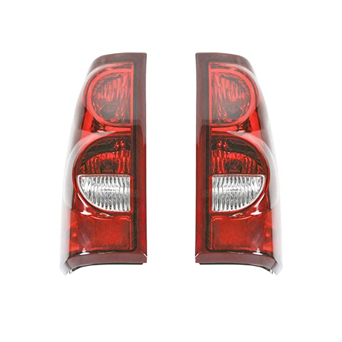 Taillights Taillamps Rear Brake ライト ペア セット for 2003 Chevy Silverado (海外取寄せ品)