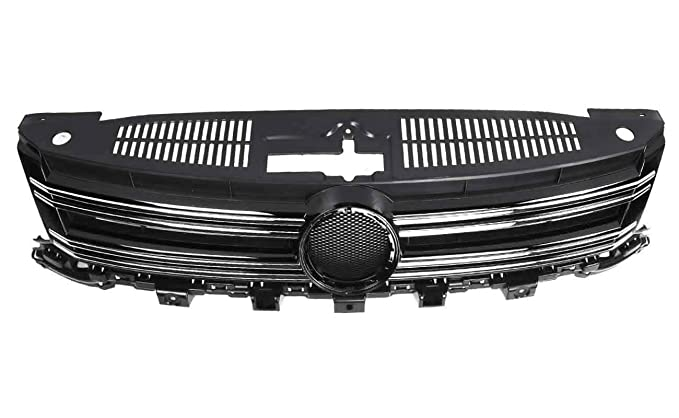 Bapmic 5N0853651H フロント センター Grille for Volkswagen Tiguan 2012-2017 (海外取寄せ品)[汎用品]