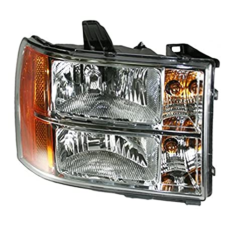 Headlight Headlamp Passenger Right ハンド RH Side for 07-13 Sierra Pickup Truck (海外取寄せ品)