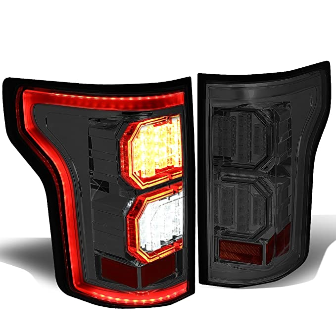 DNA MOTORING TL-LED-3D-F150-15-SC Tail Light Assembly, ドライバー and Passenger Side (海外取寄せ品)[汎用品]
