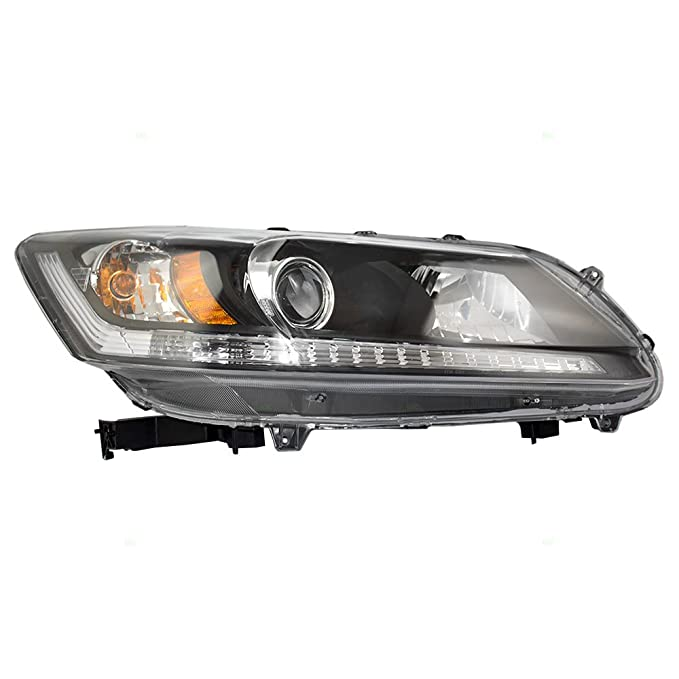 Passengers Halogen コンビネーション Headlight Headlamp リプレイスメント for 13-15 Honda Accord セダン WITHOUT Daytime ランニング ライト 33100-T2A-A01 (海外取寄せ品)[汎用品]