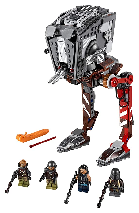 レゴ スターウォーズ Star wars AT ST Raider 75254 The Mandalorian Collectible オール Terrain Scout Transport Walker Posable Building Model (540 Pieces) (海外取寄せ品)