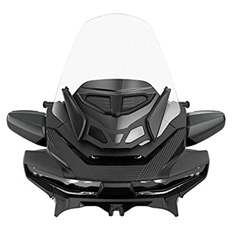 Can-Am Spyder RT 2020 & Up アジャスタブル ツーリング Vented Windshield Clear 219400993 (海外取寄せ品)