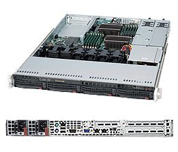 Supermicro SuperServer 6016T-NTRF Barebone System SYS-6016T-NTRF (海外取寄せ品)