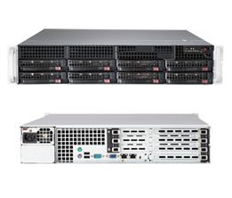 New Supermicro 2U SuperServer SYS-6027R-TDT+ with full (海外取寄せ品)