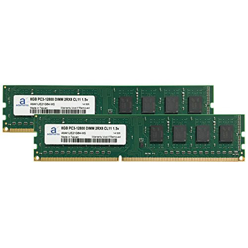 Adamanta 16GB (2x8GB) Memory Upgrade for MSI H87-G43 GAMING DDR3 1600 PC3-12800 DIMM 2Rx8 CL11 1.5v RAM (海外取寄せ品)