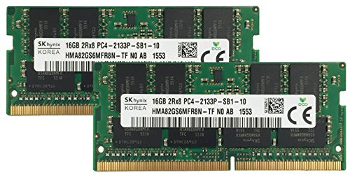 Hynix オリジナル 32GB (2x16GB) Laptop Memory Upgrade for MSi GS60 6QC 423CZ ゴースト DDR4 2133 PC4-17000 SODIMM 2Rx8 CL15 1.2v ノート RAM Adamanta (海外取寄せ品)
