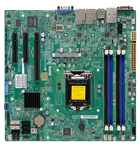 Supermicro Motherboard Micro ATX DDR3 1600 LGA 1150 Motherboards X10SLL+-F-O (海外取寄せ品)