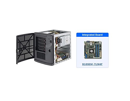 Supermicro SuperServer 5028D-TN4T ミニ-タワー Server - 1 x Intel Xeon D-1540 Octa-core (8 Core) 2 GHz SYS-5028D-TN4T (海外取寄せ品)